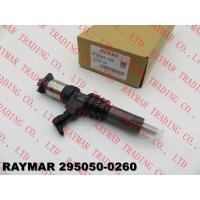 Buy cheap DENSO Genuine common rail fuel injector 295050-0260 for MITSUBISHI 6M60 EURO 5 ME306476 from wholesalers