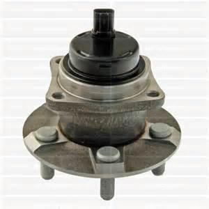 China TS16949  Toyota COROLLA Rear Wheel Bearing 512217, 693217, 712215 wholesale