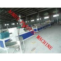 China Recycled Plastic Profile Extrusion Line For WPC Pallet / Fence on sale