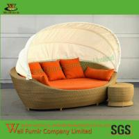 Supply Spice Island Living Room Set,Rattan Daybed, Outdoor Wicker Sun Lounge, Well Furnir