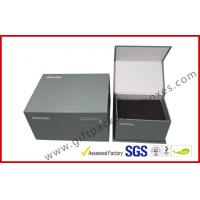 China Handmade magnet gift packing box different size CMYK printing with black foam inside wholesale