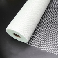 China Different colors fire - resistant fiberglass net used for construction material wholesale