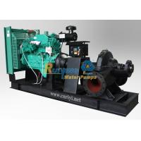 Quality Mobile / fixed type diesel engine water pump for irrigation , diesel irrigation pumps for sale