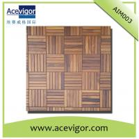 China Antique solid wood wall mosaic tiles with high quality & smooth surface wholesale