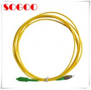 China Single Mode To Multimode Fiber Patch Cord Simplex / Duplex LC-LC SC-LC FC-LC SC-SC on sale