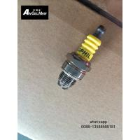 China OEM Small Chainsaw Spark Plug With 2 Electrodes Yellow For Lawn Mower wholesale