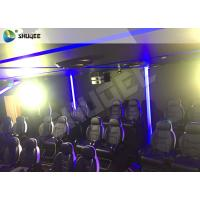 China Customizable Arc Screen 5D Cinema Equipment Rides Cabin For Game Zone wholesale