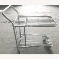 China Warehouse Four Wheel Shopping Trolley on sale