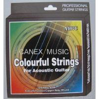China Acoustic Guitar Colour String / Guitar String / Colour String on sale