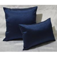 China 100% Cotton Pillow Cushion Covers Navy Blue Decorative Pillows 30x40cm wholesale