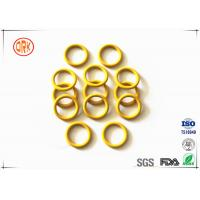 China Yellow Waterproof Silicone O Ring High Temperature Resistance For Electronic wholesale