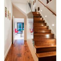 China American walnut wood stair tread covers wholesale