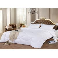 China 3 ~ 5 Star Hotel Bedding Duvet 330GSM 60S Goose White Color Customize Size wholesale