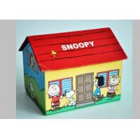 China Personalized Coated Paper House Shape Gift Packaing Boxes For Children Gift With Cartoon Design wholesale