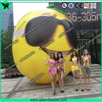 China Fruits Festival Event Inflatable Model Giant Inflatable Lemon Model/Sunglasses Advertising wholesale