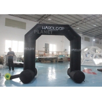 China Oxford Mini Advertising Cartoon Inflatable Entrance Arch Outdoor Black wholesale