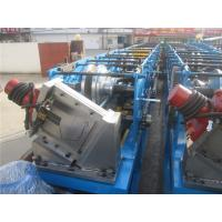 China Thin Type G550 Material Gutter Forming Machine 1.2 Inch Singel Chain 5.5KW wholesale