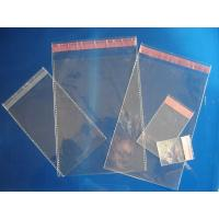 China Clear Plain Header Self Adhesive OPP Bags / OPP Header Bag / OPP Cellophone Gift Bag wholesale