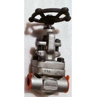 China Forged SW Globe Control Valve -101℃ To 650℃ Wide Working Temperature Range on sale