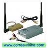 Buy cheap 1.2GHz 1500mw wireless AV transmitter receiver from wholesalers