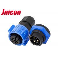 China M19 3 Pole Waterproof Plug And Socket Cable Connector IP68 Wire To Board For Power LED wholesale