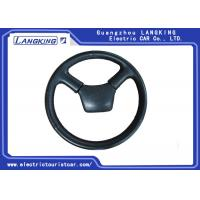 China Electric Shuttle Bus / Freight Car Parts Steering Wheel PU Or ABS Material on sale