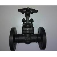China Welded Bonnet Forged Steel Valves Flange Type Gate Valve Class 150 wholesale