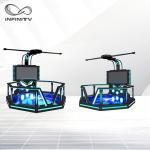 China VR Shooting Game Virtual Reality Machine Skiing Simulator For Shopping Mall wholesale