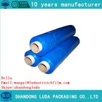 China high quality PE colored stretch film made in china lowest price on sale