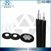 China FTTH outdoor 1/2/4/8/12 cores G652D/G657A1/2 single mode self-supporting drop cable GJYXFCH on sale