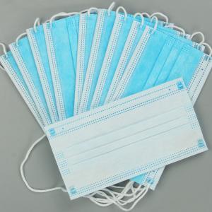 China EN149 Anti Fog Mouth 3 Layer Civil Disposable Nose Mask wholesale