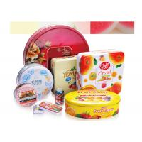Buy cheap Tin Can Custom Packaging Boxes 0.19-0.35mm Tinplate Material RHOS Approval from wholesalers