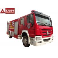 China 8T Fire Fighting Vehicle Euro IV High Visibility Customized Design Acceptable wholesale