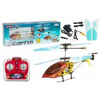 China Red 3CH RTF Electrical Metal Remote RC Helicopters with Gyroscope ES-QS9008 , EN71 wholesale