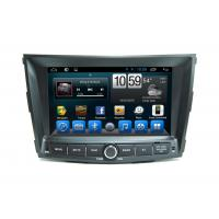 Quad Core Entertainment System Vehicle DVD Players For Ssangyong Tivolan