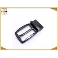China Simple Reversible Custom Metal Belt Buckles With Die-Casting Plating wholesale