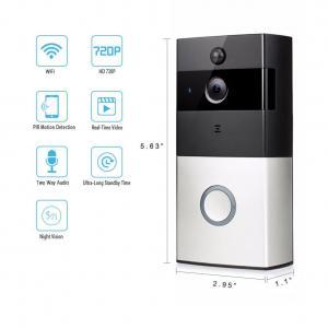 Buy cheap Smart IR Wireless Video Door Phone 8-10 Month's Battery Life IR 720P WiFi Video Doorbell from wholesalers