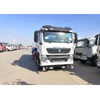 Buy cheap Sinotruk 10cbm Water Liquid Tank Truck 4 * 2 266hp With Air Conditioner from wholesalers
