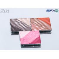 China OEM square multi-color waved shadow palette Strong High Pigment Eyeshadow wholesale