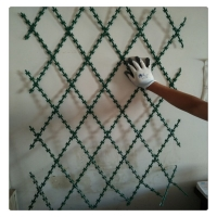 China Welded Barbed Mesh 1x2 Razor Panel For Fence Protect wholesale