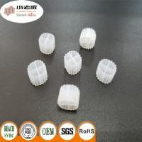 China K1 MBBR Filter Media With White Color And 900m2/m3 Suface Area 11*7mm Size wholesale