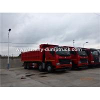 Quality HOWO A7 8X4 12 Wheeler Heavy Duty Dump Truck With 30m³ Cubage Capacity For Mining for sale