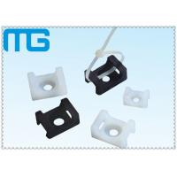 China white /balck Saddle Type tie mounts with material of PA66, CE approval ,1000PCS /BAG wholesale