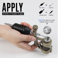 China Precision Control Adjustable Needle Stroke 1 - 5mm Stonger Power  Electric  New Tattoo Machine Guns wholesale