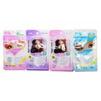 Flexible Plastic Cosmetic Packaging Bags , Promotion Gravure Printing Beauty Products Bag