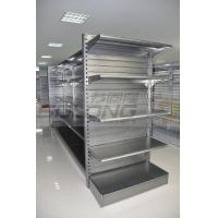 China Supermarket Display Racks , Metal Retail Shelving ISO9001 Certification wholesale