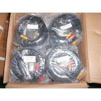 China Premade CCTV Video Cable Siamese Power 50ft with BNC / DC Connector wholesale