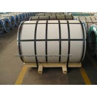 China Grade 304 / 2BA No.4 8K 6K + PVC  Stainless Steel Coil Rolls in Size 1000 * 2000mm /  1220 * 2440mm / 1524 * 3048mm wholesale