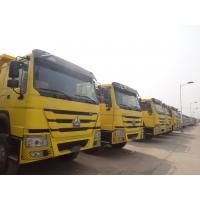 Buy cheap Reinforced Type howo dump truck CAMION 25000 Gross Mass kg Kerb weight from wholesalers