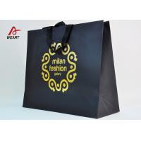 China Cotton Ribbon Personalized Wine Bags Paper Material , Custom Business Shopping Bags wholesale